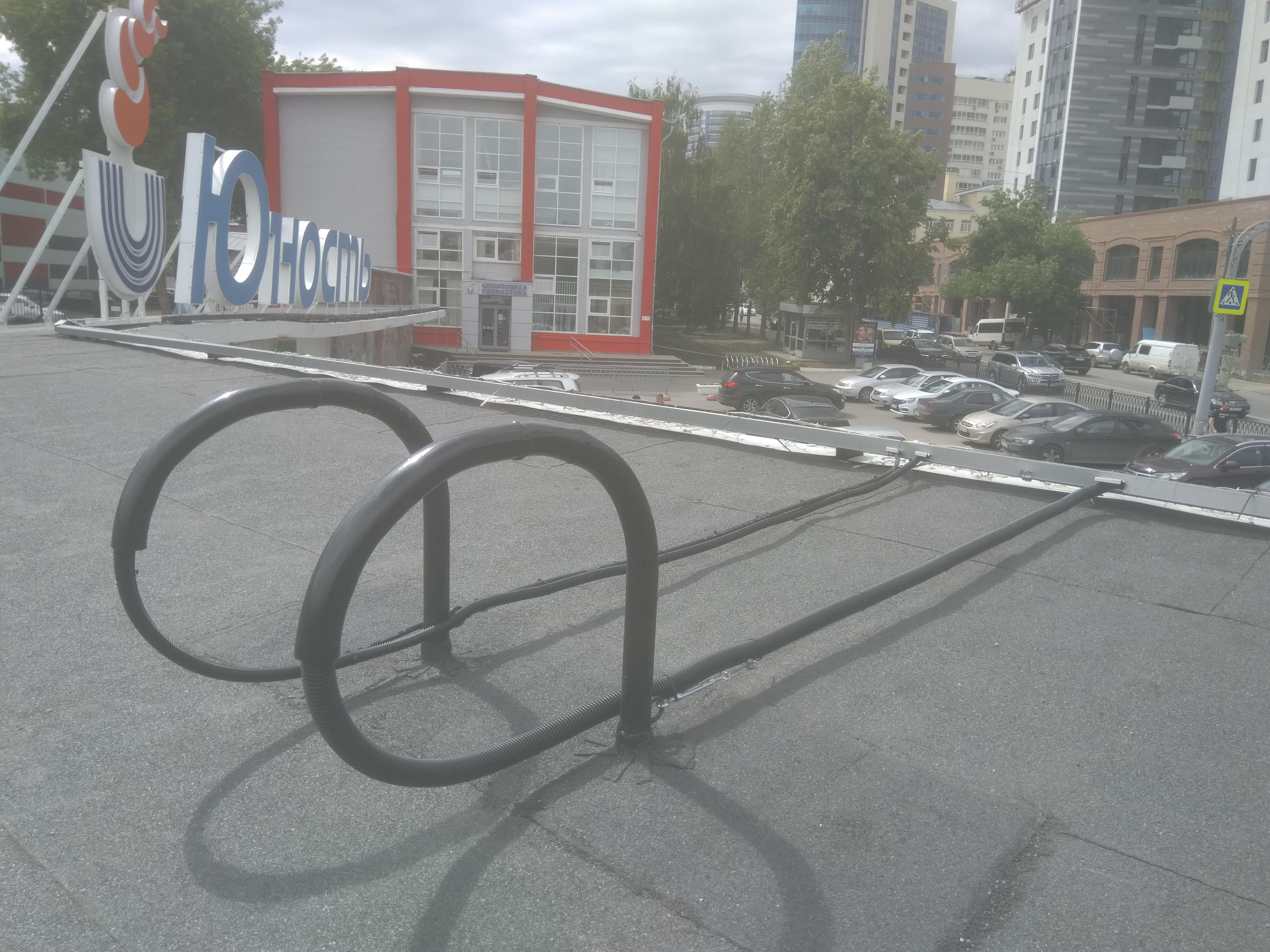гусак для кабеля на крышу